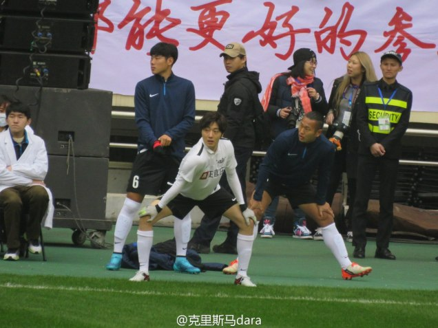 2016 1 10 jung il-woo playing soccer in the 2016 asian smile cup. 76
