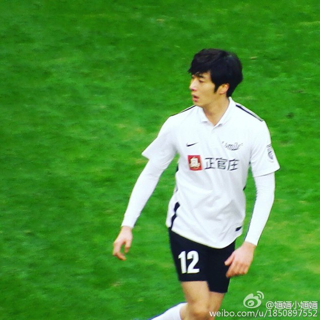 2016 1 10 jung il-woo playing soccer in the 2016 asian smile cup. 80