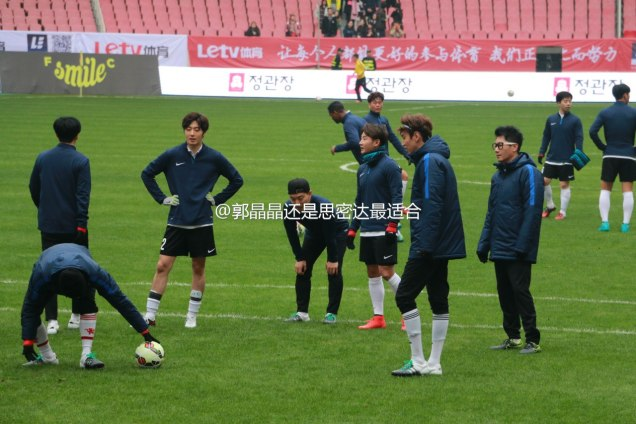 2016 1 10 jung il-woo playing soccer in the 2016 asian smile cup. 83