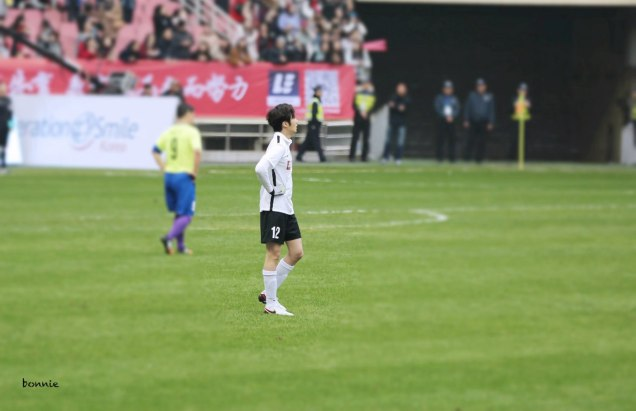 2016 1 10 jung il-woo playing soccer in the 2016 asian smile cup. 91
