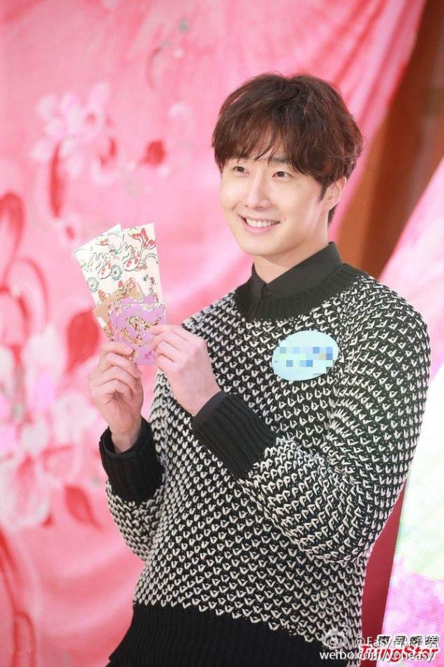 2016 1 23 jung il-woo in hong kong fan meeting extras envelopes 2