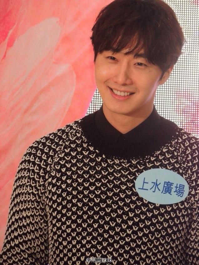 2016 1 23 jung il-woo in hong kong fan meeting extras talking18
