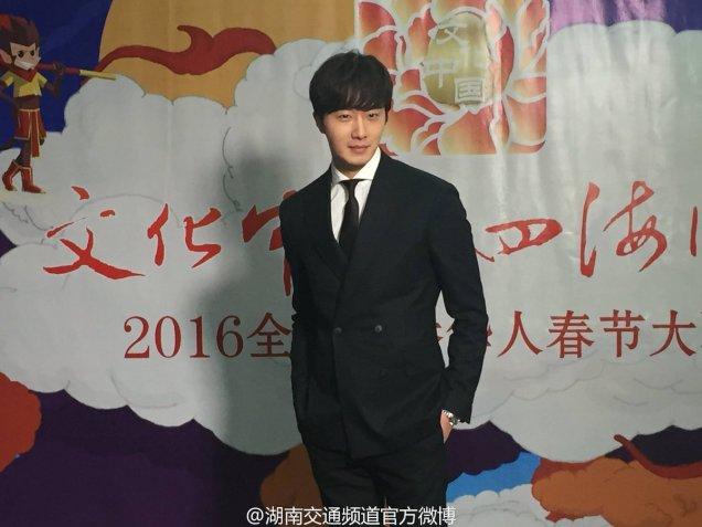 2016 2 8 jung il-woo hunan tv spring gala interview. 3
