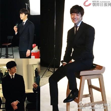 2016 2 8 Jung Il-woo Hunan TV Spring Gala Recording Lunar Year Message.jpg