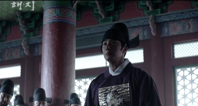 2019 1 21 jung il-woo in haechi third trailer. cr. sbs screen aptures: fan 13 4