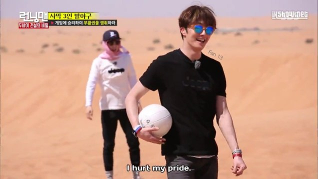 2016 3 13 Jung Il-woo in running Man Episode 290. (Dubai Part II) Cr. SBS and Fan 139