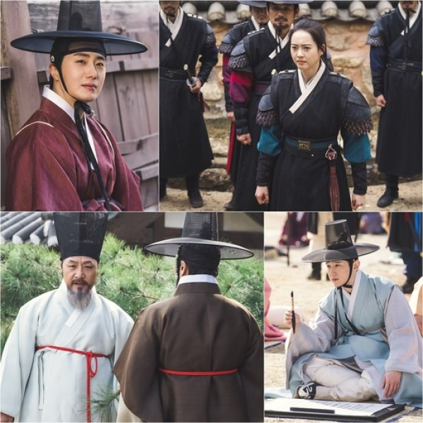 2019 1 Jung Il-woo and cast BTS of Haechi. 9