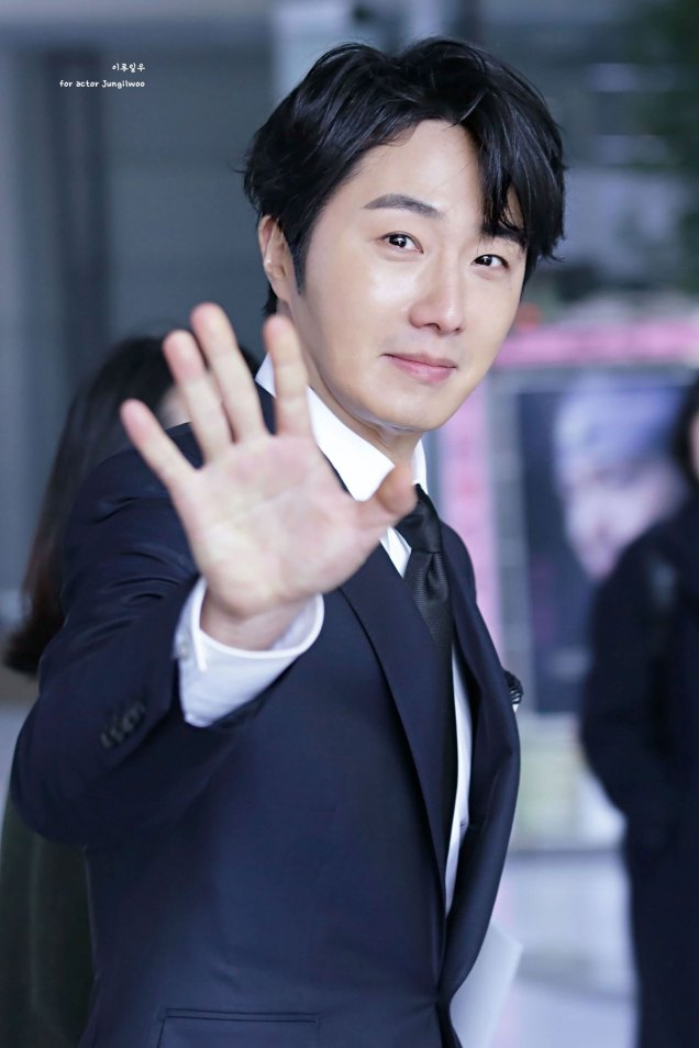 2019 2 11 Jung Il-woo at the Production Presentation by 이루일우 for actor Jungilwoo5
