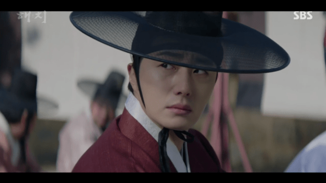 2019 2 11 Jung Il-woo in Haechi Episode 1. Cr. SBS 11