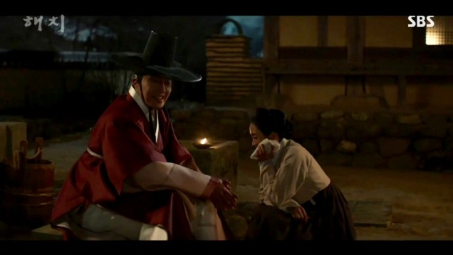 2019 2 11 Jung Il-woo in Haechi Episode 1. Cr. SBS 40