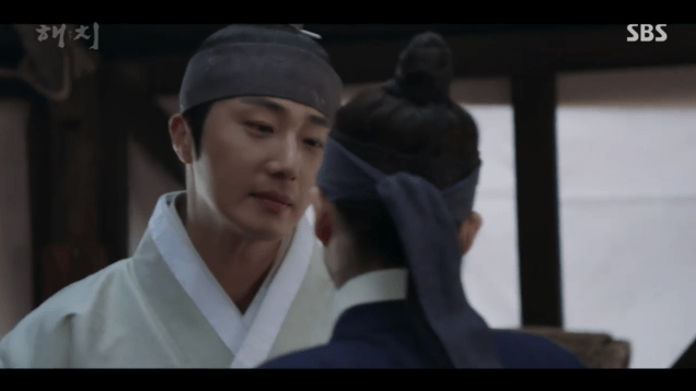 2019 2 11 Jung Il-woo in Haechi Episode 2. Cr. SBS & Fan1318