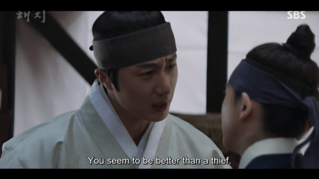 2019 2 11 Jung Il-woo in Haechi Episode 2. Cr. SBS & Fan1319