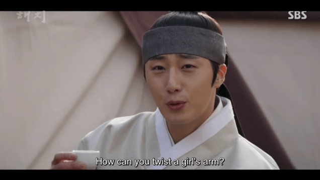2019 2 11 Jung Il-woo in Haechi Episode 2. Cr. SBS & Fan1324
