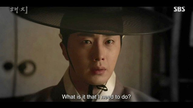 2019 2 18 Jung Il-woo in Haechi Episode 4 (7,8) Cr. SBS. Screen Captures by Fan 13. 1