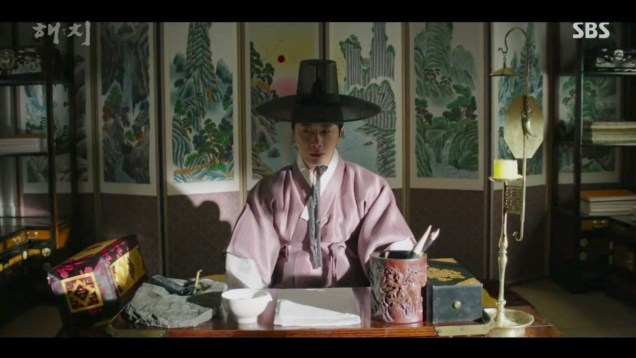 2019 2 18 Jung Il-woo in Haechi Episode 4 (7,8) Cr. SBS. Screen Captures by Fan 13. 2