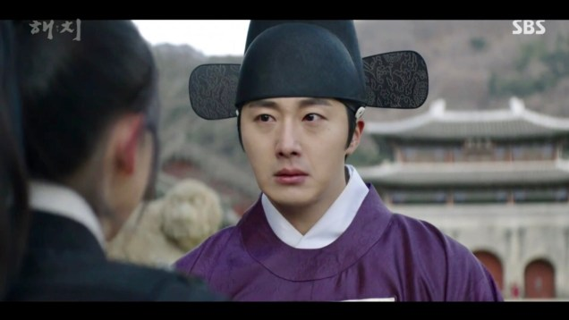 2019 2 18 Jung Il-woo in Haechi Episode 4 (7,8) Cr. SBS. Screen Captures by Fan 13. 38