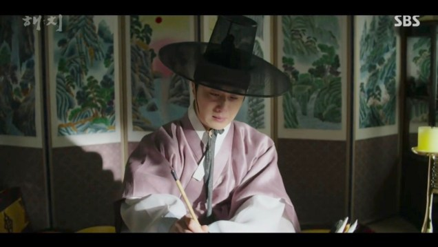 2019 2 18 Jung Il-woo in Haechi Episode 4 (7,8) Cr. SBS. Screen Captures by Fan 13. 4