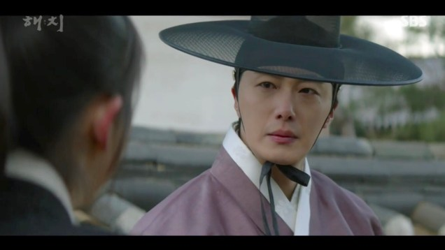 2019 2 18 Jung Il-woo in Haechi Episode 4 (7,8) Cr. SBS. Screen Captures by Fan 13. 5