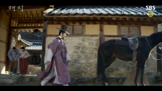 2019 2 18 Jung Il-woo in Haechi Episode 4 (7,8) Cr. SBS. Screen Captures by Fan 13. 53
