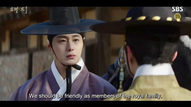 2019 2 18 Jung Il-woo in Haechi Episode 4 (7,8) Cr. SBS. Screen Captures by Fan 13. 54