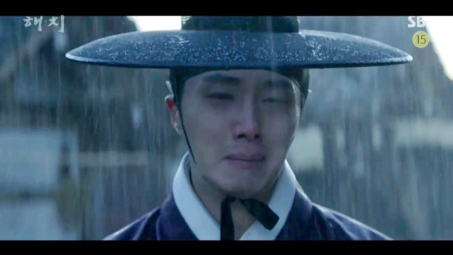 2019 2 18 Jung Il-woo in Haechi Episode 4 (7,8) Cr. SBS. Screen Captures by Fan 13. 74