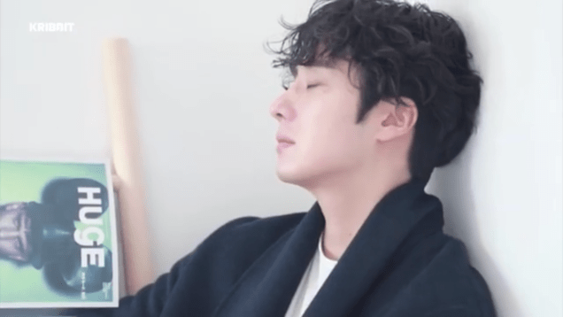 2019 2 18 Jung Il-woo in Kribbit Behind the Scenes Video 2, Screen Captures by Fan 13. Cr.Kribbit 2
