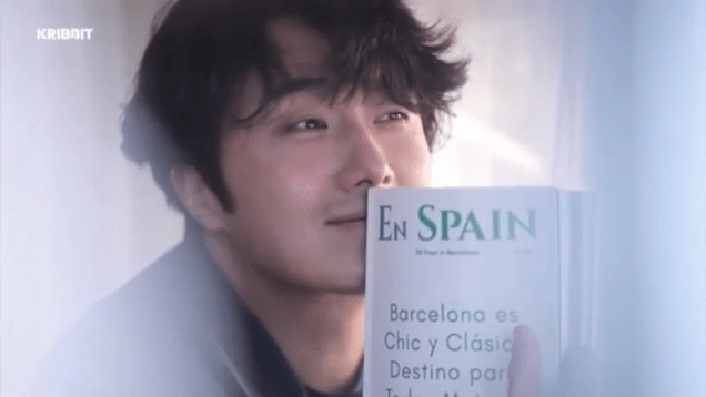 2019 2 18 Jung Il-woo in Kribbit Behind the Scenes Video 4, Screen Captures by Fan 13. Cr.Kribbit 1