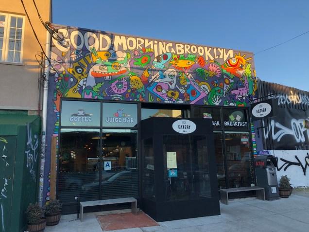 2019 Good Morning Brooklyn. A korean Eatery. Cr. Fan 134