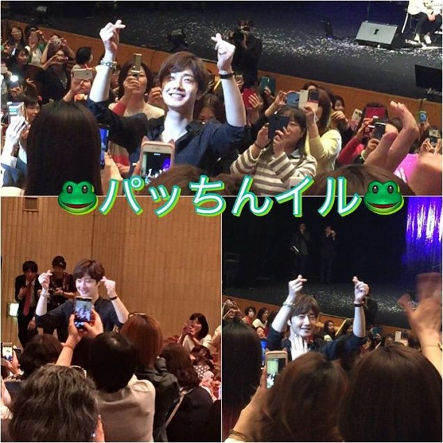 2016 4 15 Jung Il-woo at the 10th Thank You Fan Meeting in Japan. Cr. Fan Taken 10