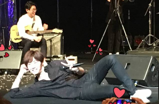 2016 4 15 Jung Il-woo at the 10th Thank You Fan Meeting in Japan. Cr. Fan Taken 12