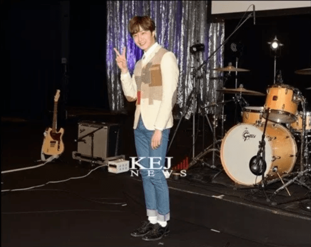 2016 4 15 Jung Il-woo at the Press Conference for his 10th Thank You Fan Meeting in Japan. 18