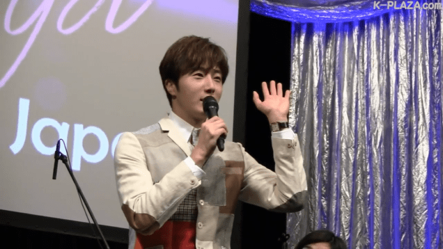 2016 4 15 Jung Il-woo at the Press Conference for the 10th Thank You Fan Meeting in Japan. 5