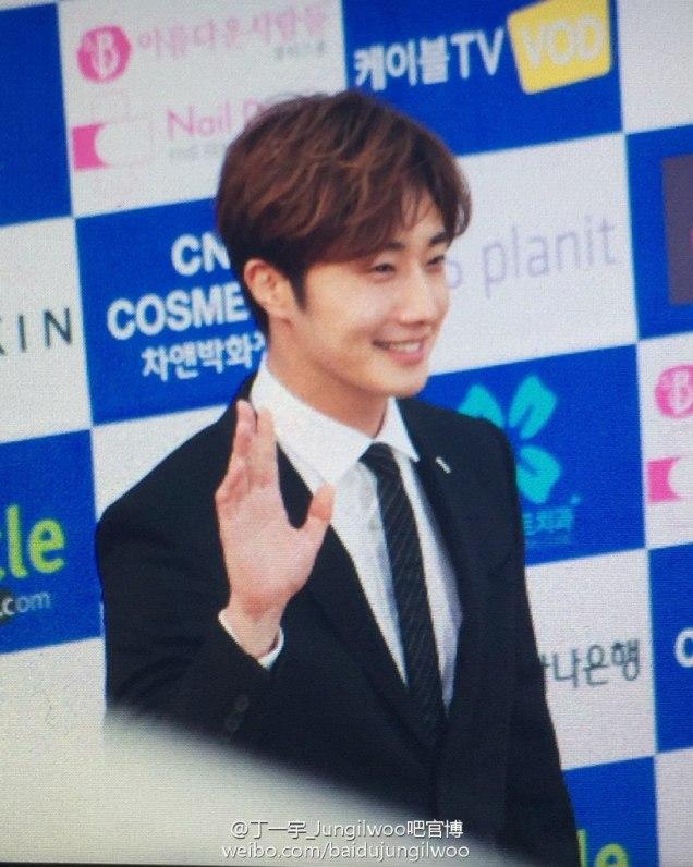 2016 5 21 Jung Il-woo at the Asian Model Awards. Photo Pose. 4