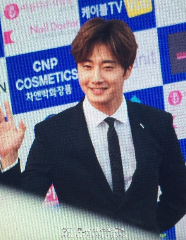 2016 5 21 Jung Il-woo at the Asian Model Awards. Photo Pose. 5