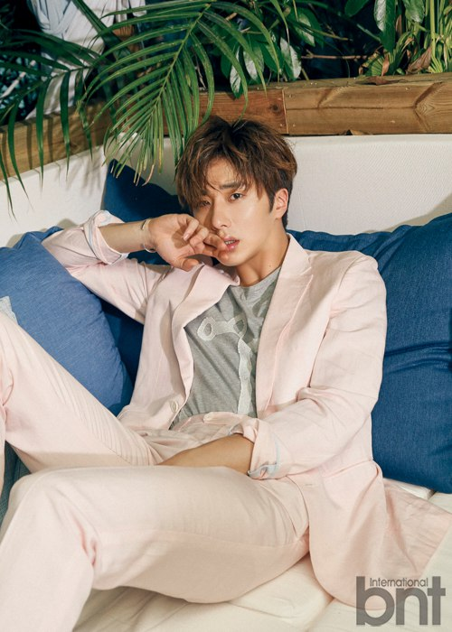 2016 5 22 Jung Il-woo in a BNT Pictorial. Cr BNT 8