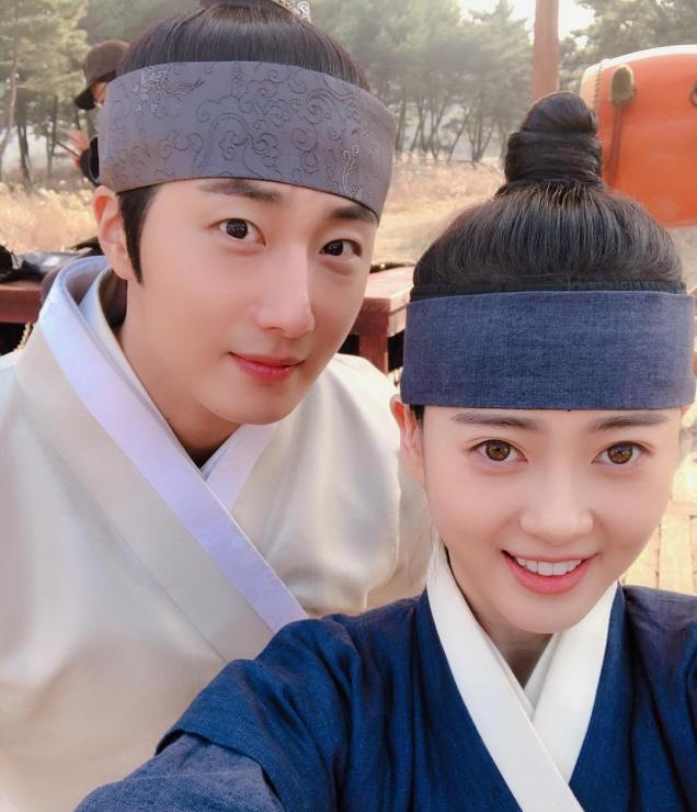 2019 2 26 Jung Il-woo in Haechi Episode 6 (11,12) Behind the Scenes. Cr. SBS 6