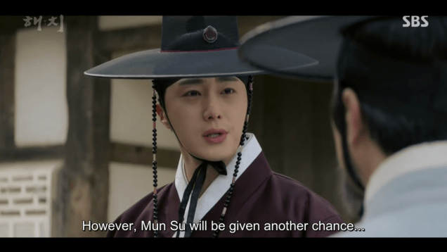 2019 2 26 Jung Il-woo in Haechi Episode 6 (11,12) Cr. SBS Screen Captures by Fan13. 39