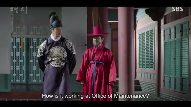 2019 3 11 Jung Il-woo in Haechi Episode 9. 50