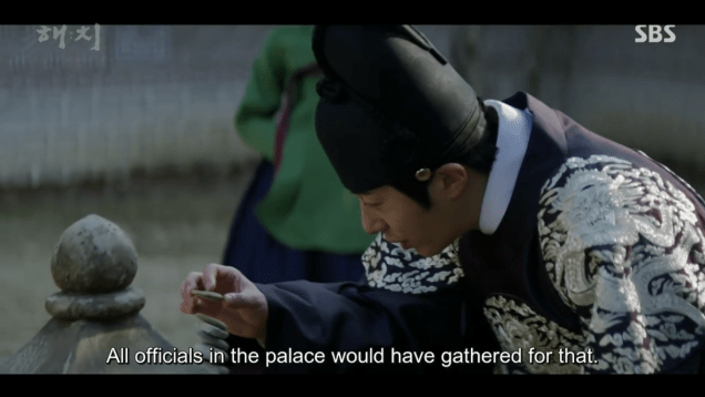 2019 3 11 Jung Il-woo in Haechi Episode 9. 7