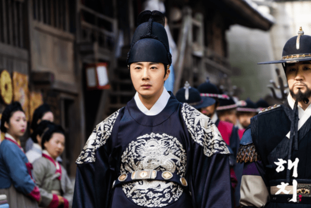 2019 3 18. Jung Il-woo in Haechi Episode 11. Behind the Scenes and Website photos. Cr. SBS 10.png