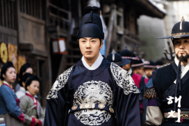 2019 3 18. Jung Il-woo in Haechi Episode 11. Behind the Scenes and Website photos. Cr. SBS 10