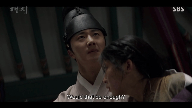 2019 3 18. Jung Il-woo in Haechi Episode 11. Cr. SBS 16