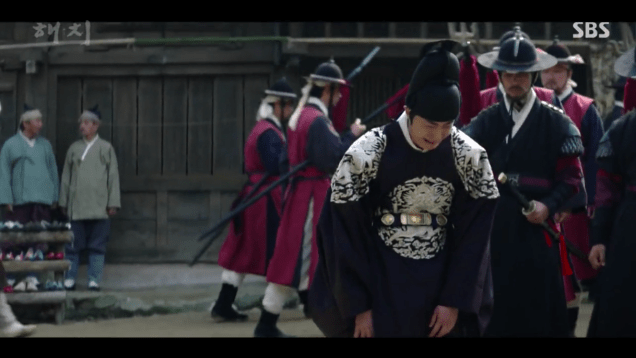 2019 3 18. Jung Il-woo in Haechi Episode 11. Cr. SBS 29