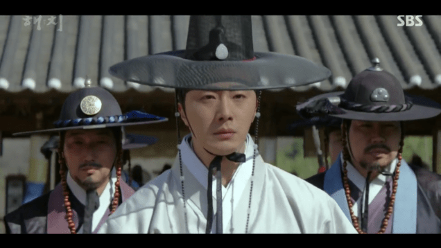 2019 3 18. Jung Il-woo in Haechi Episode 11. Cr. SBS 40