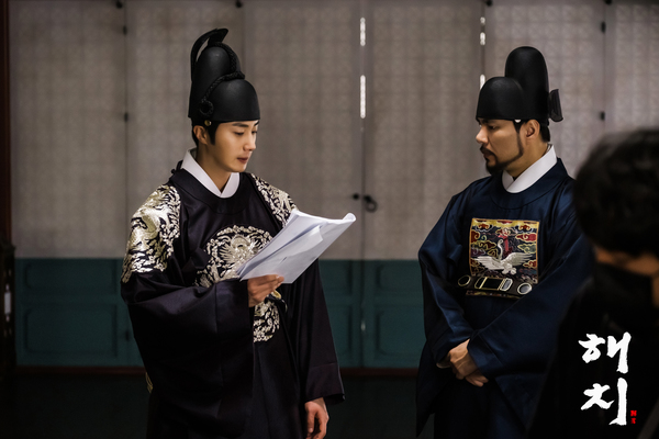 2019 3 31 Jung Il-woo in Haechi Episode 13 (25-26) Website Photos and Behind the Scenes. 12