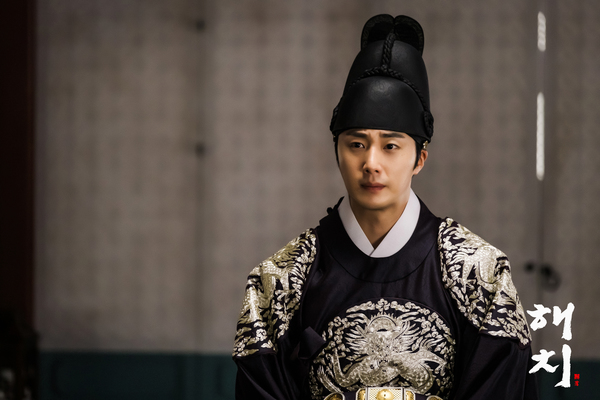 2019 3 31 Jung Il-woo in Haechi Episode 13 (25-26) Website Photos and Behind the Scenes. 14