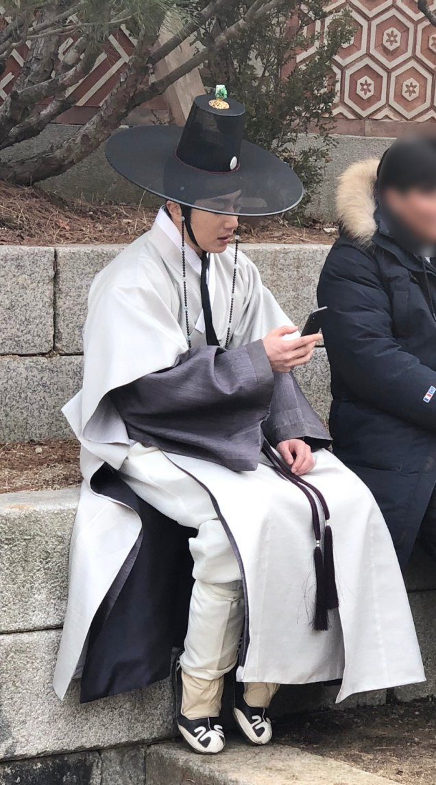 2019 3 8 Jung Il-woo in Haechi Episode 8. Behind the Scenes. 10