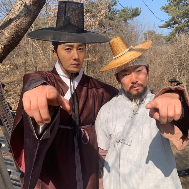 2019 3 8 Jung Il-woo in Haechi Episode 8. Behind the Scenes. 2