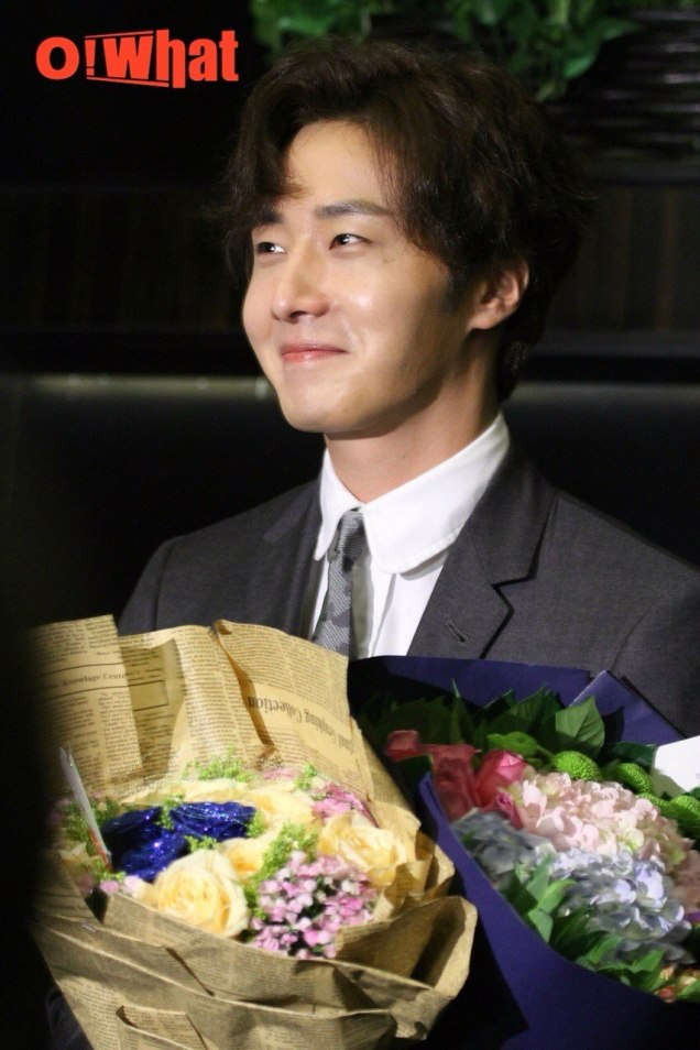2015 10 Jung Il-woo in the Press Conference of Beautiful Woman : Beauty Dream. Interview. 23