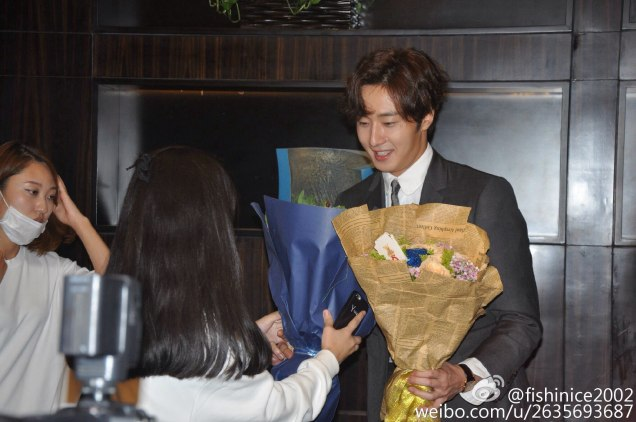 2015 10 Jung Il-woo in the Press Conference of Beautiful Woman : Beauty Dream. Interview. 25